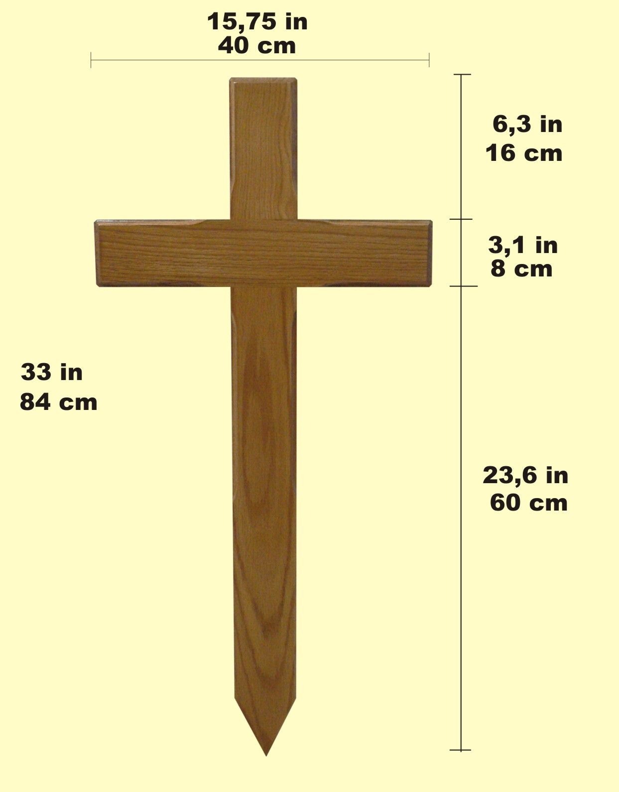 Wooden Memorial Crosses For Graves
